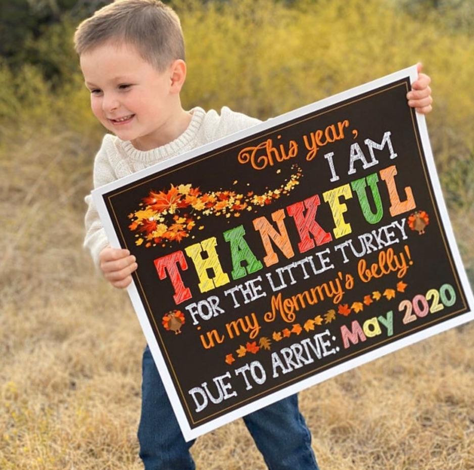 big brother Thanksgiving pregnancy announcement