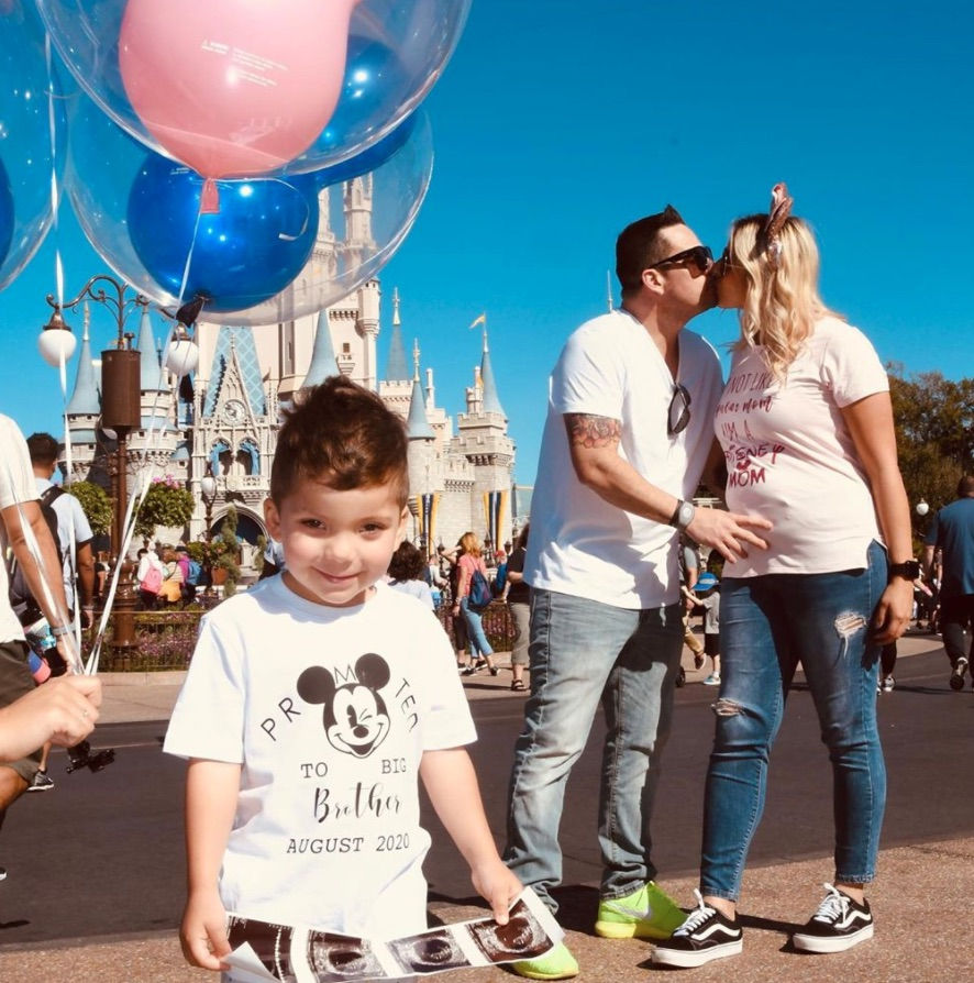 Disney pregnancy announcement - big brother