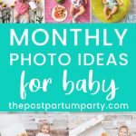 monthly photo ideas pin image