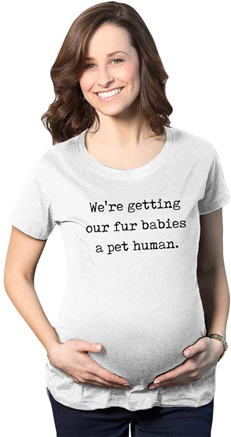 dog pregnancy announcement shirt