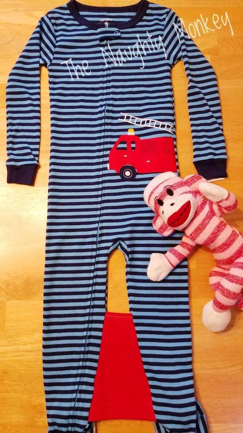 Special toddler pajamas that can prevent crib climbouts