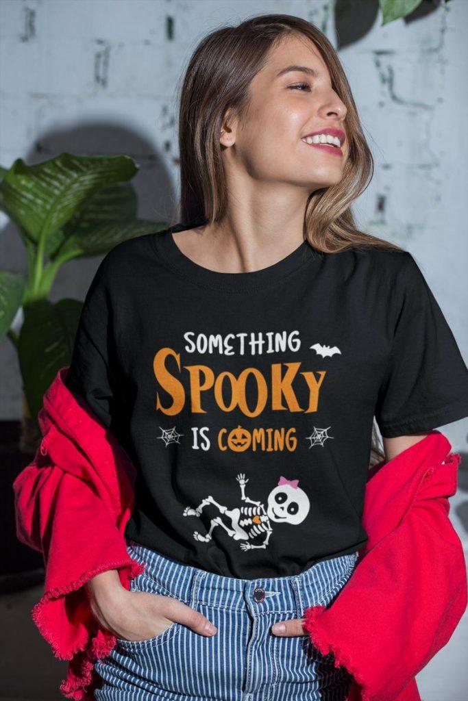 Halloween pregnancy tee