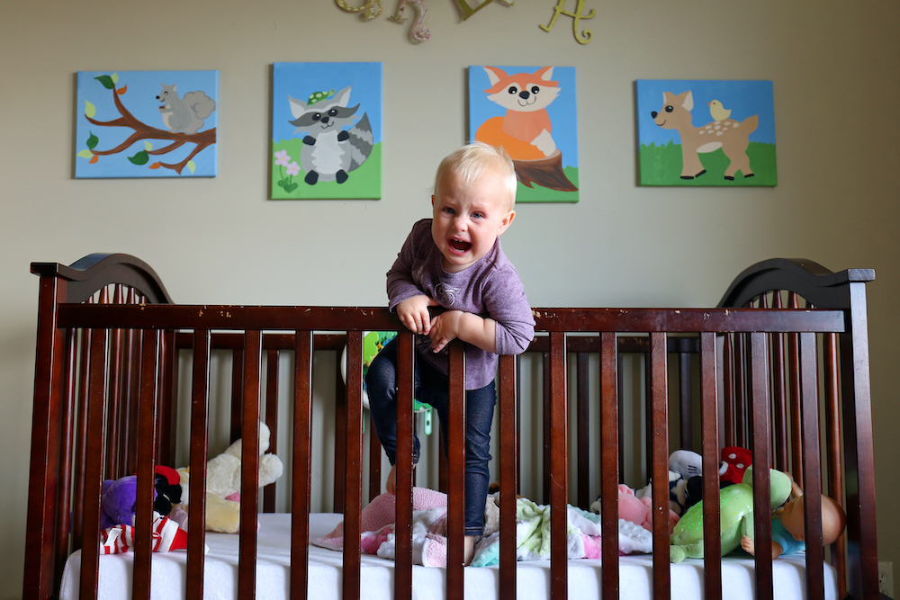 two year old sleep regression solutions, toddler climbing out of crib