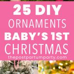 Baby-Christmas-Ornaments-Pin image