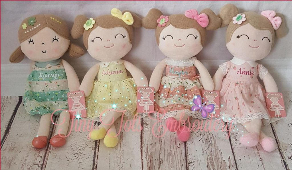 personalized baby dolls