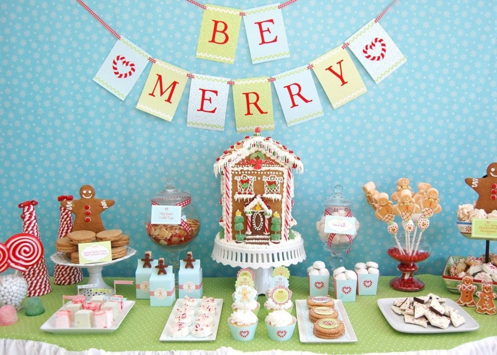 Christmas baby shower - Gingerbread