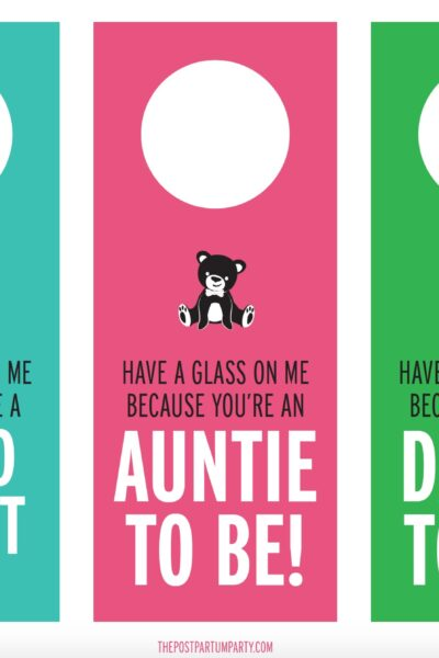 pregnancy announcement wine labels