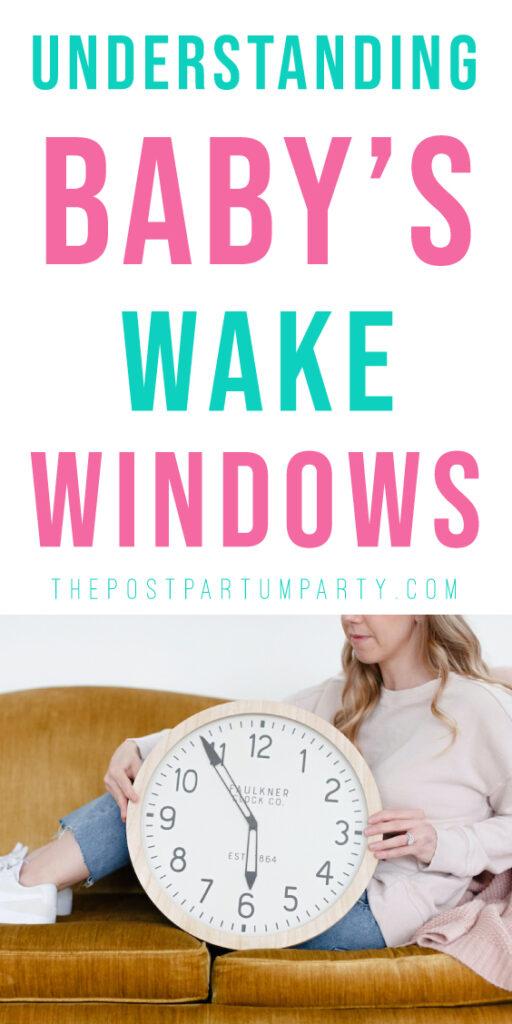 baby wake windows pin image