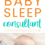 baby sleep consultant pin image