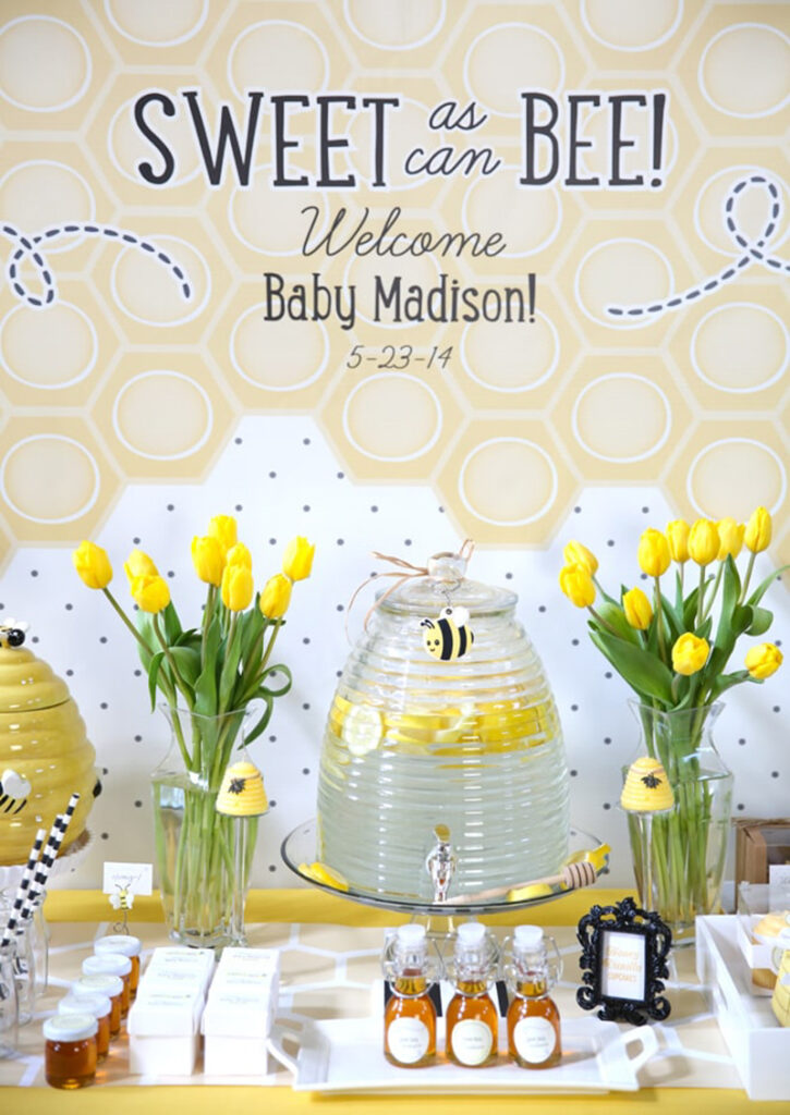 sweet as bee baby shower