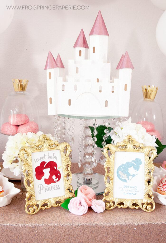 Disney princess baby shower
