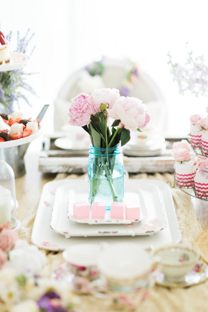 tea party baby shower for baby girl