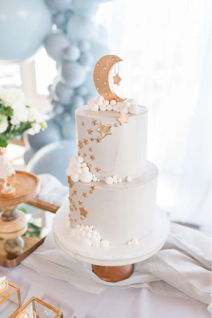 moon and stars baby shower