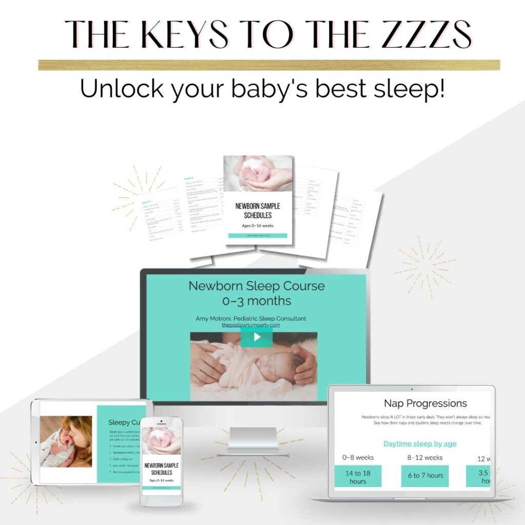 newborn sleep course