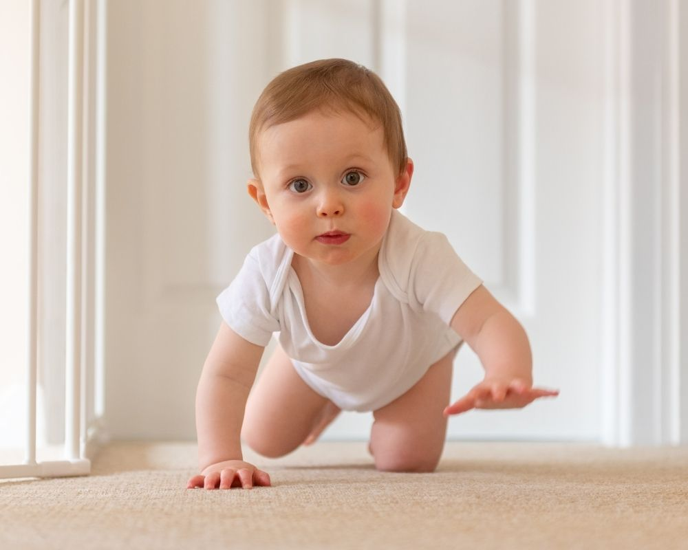9 month baby crawling leading to sleep regression