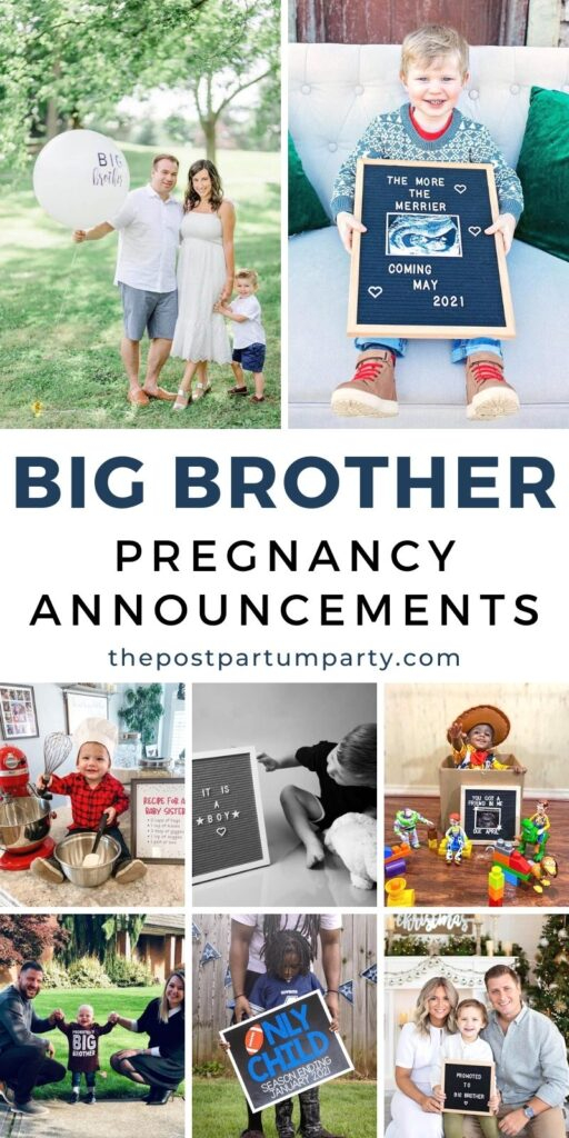 big brother pregnancy announcement pin image