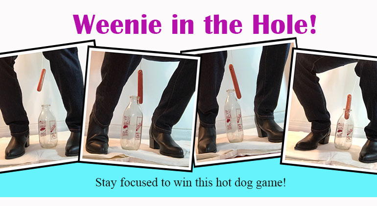weenie in the hole party game