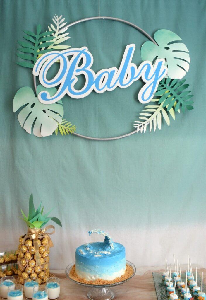 beach themed baby shower