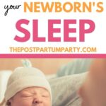 newborn wake window pin image