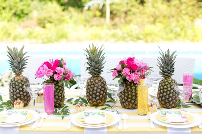 tropical fruit baby shower