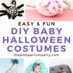 DIY halloween baby costumes pin image