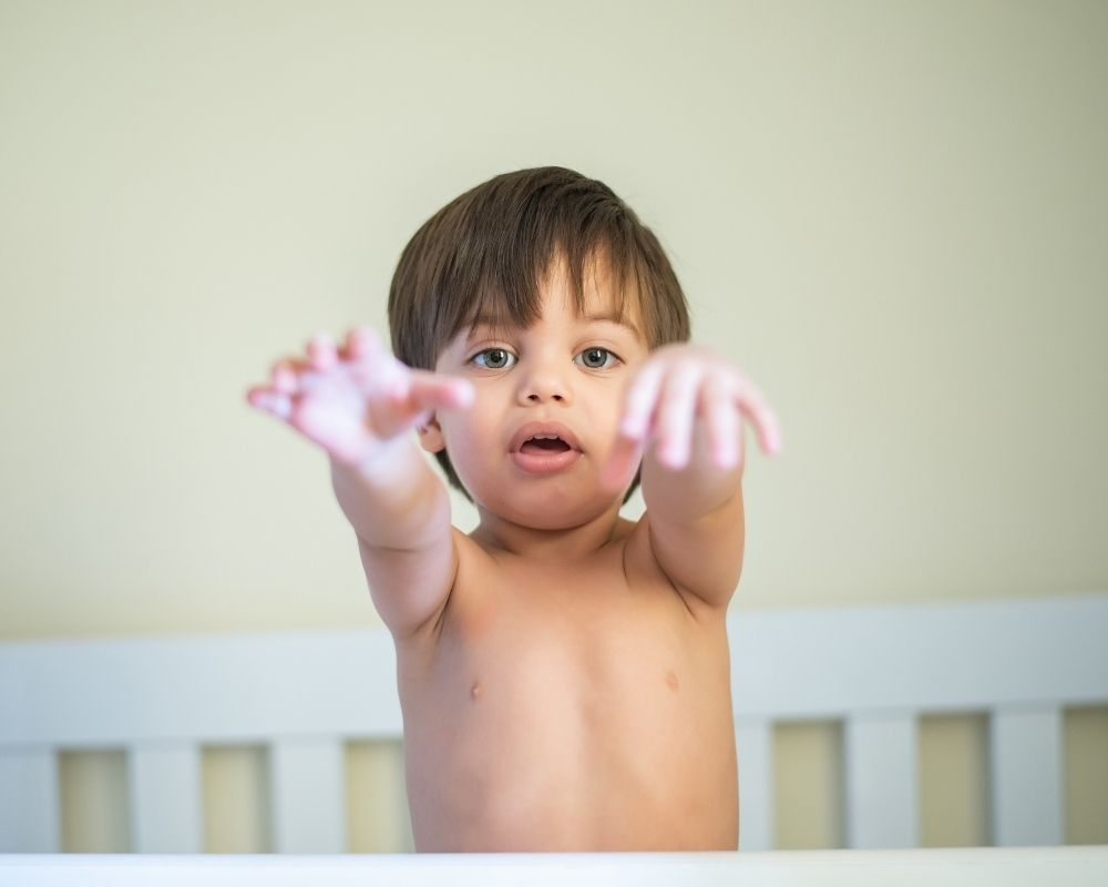 18 month old having separation anxiety- can cause sleep regression