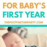 EASY baby schedule pin image