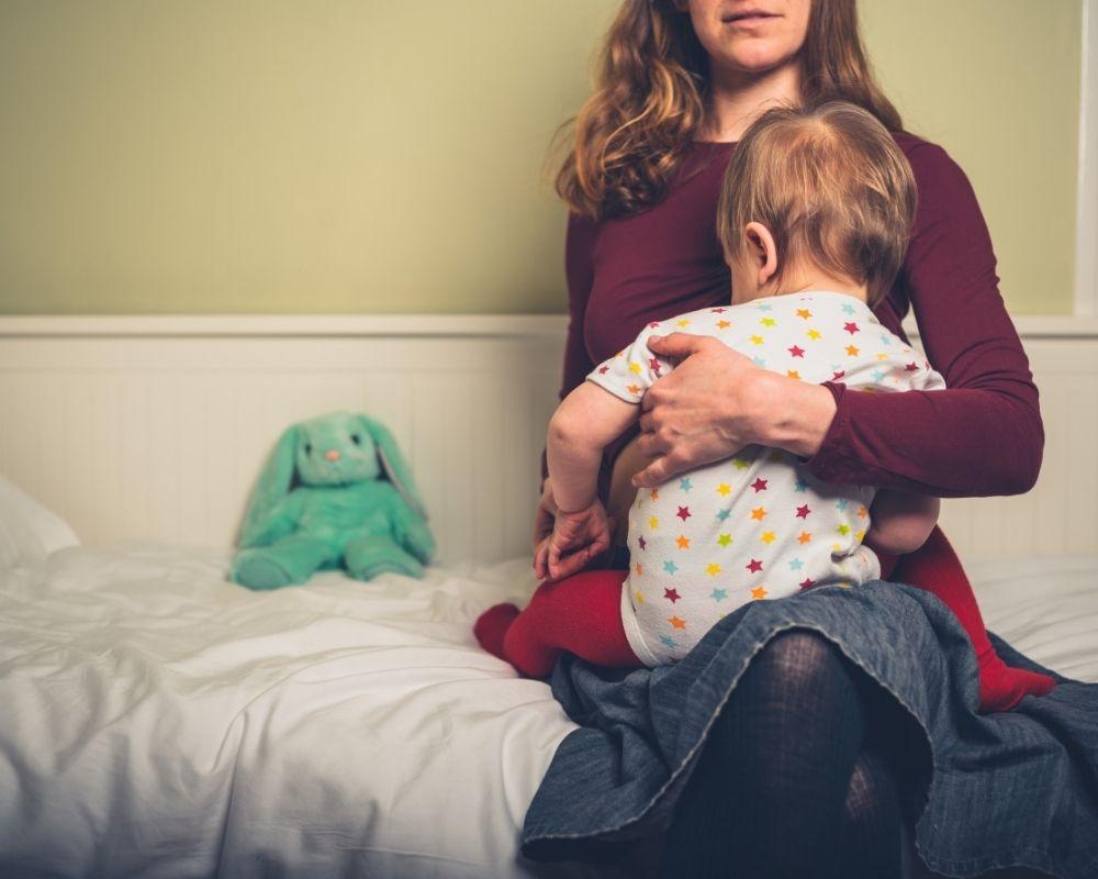 toddler nursing