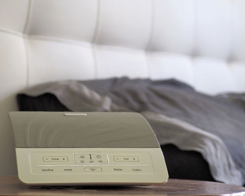 sound machine near bed is a baby registry must have