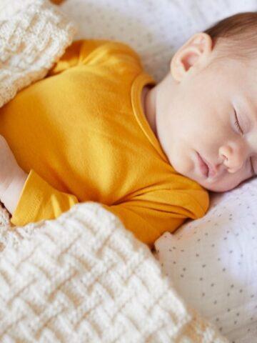 baby warm at night under blanket