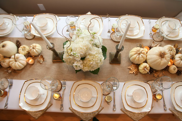 table decor for pumpkin baby shower