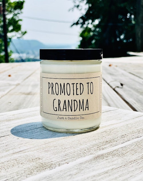 promoted to grandma candle